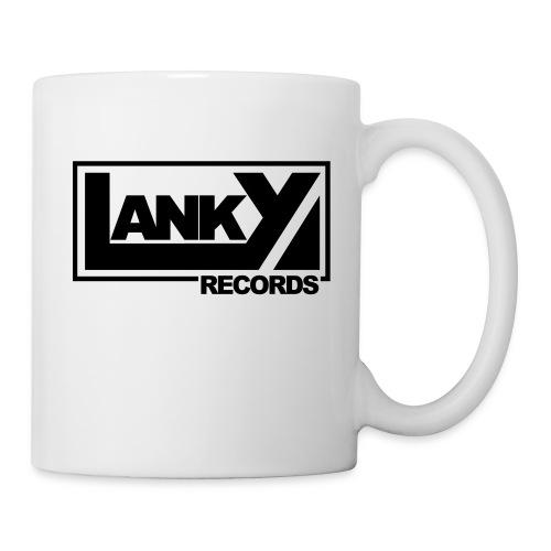 lanky records logo - Tasse
