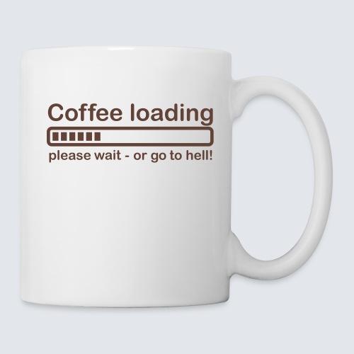 Coffee loading - Tasse