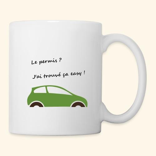 Mon permis ? Easy ! - Mug blanc
