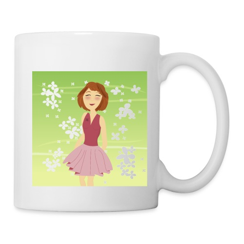 Dreamgirl Katie's lente - Mug blanc