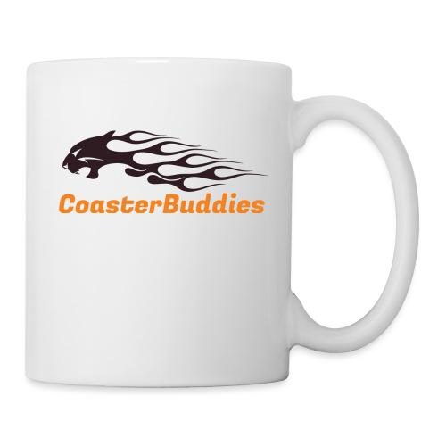 Coaster-Buddies Logo schwarz - Tasse