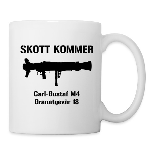 Skott Kommer CGM4 - Mugg