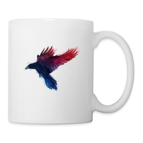 Watercolor Raven - Tasse