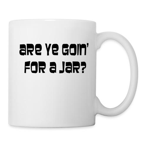 going for a jar - Mug
