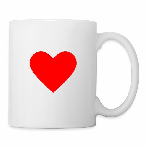 Kahvikuppi - Sydän - Muki