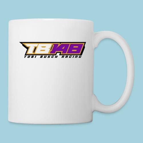 Tobi Logo schwarz - Tasse