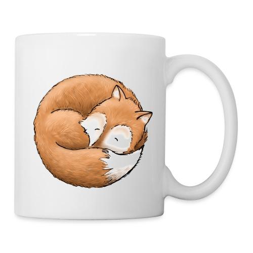 Der Fuchs macht ein Nickerchen - Tasse