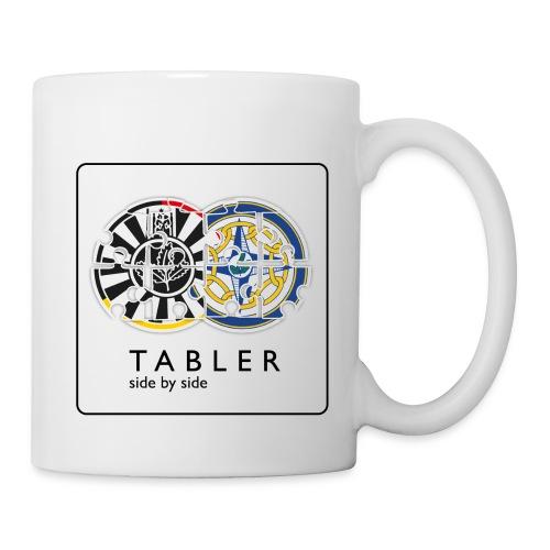 TABLER side by side - logo hell - Tasse