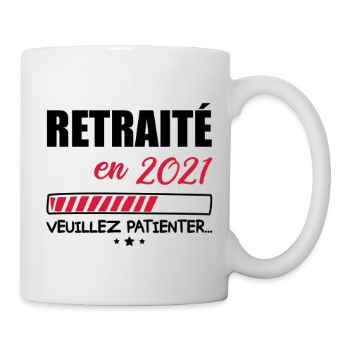 Retraité en 2021, cadeau retraite, retraité - Mug