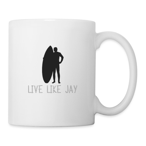 live Recovered2 png - Mug blanc