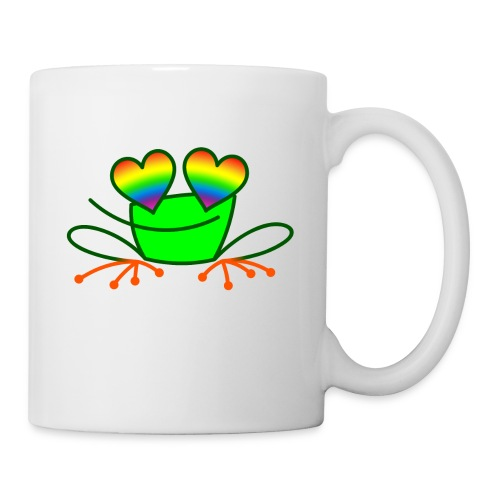 Pride Frog in Love - Mug