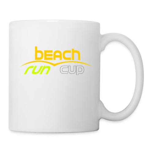 Beach_Run_Cup_d--tour-- - Mug blanc