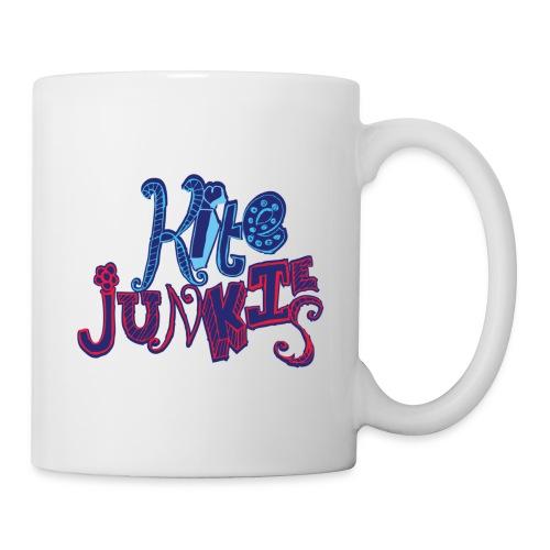 kitejunkies womens bluered - Mug