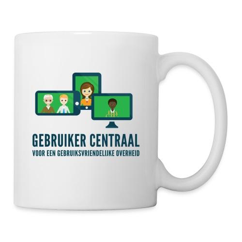 Gebruiker Centraal slogan - Mok
