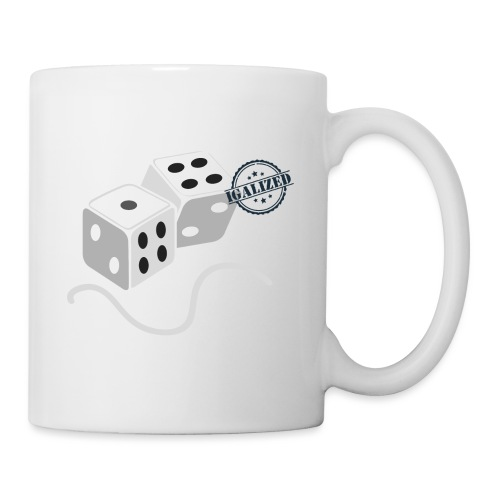 Dice - Symbols of Happiness - Mug