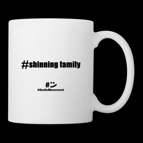 shinning family - Mug blanc