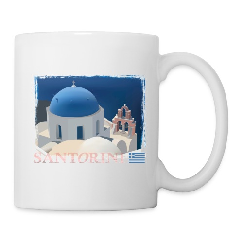 Beautiful Santorini - Mug