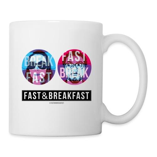 Fast And Breakfast - Mug blanc
