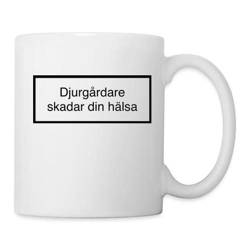 Djurgården Varningstext - Mugg