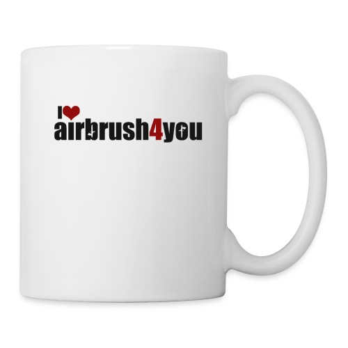 I Love airbrush4you - Tasse