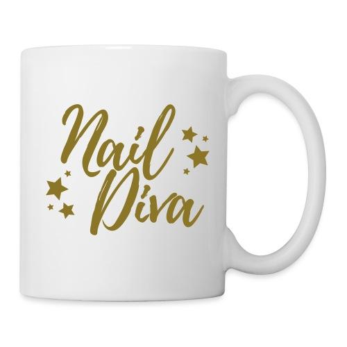 Nail Diva Vector Funny T-Shirt for the Nail Tech - Mok
