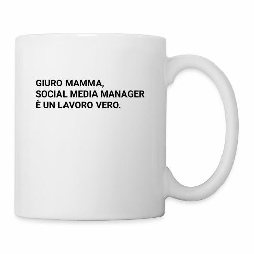 Giuro Mamma - Social media manager - Tazza