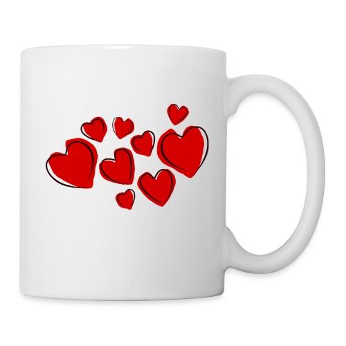 hearts herzen - Tasse