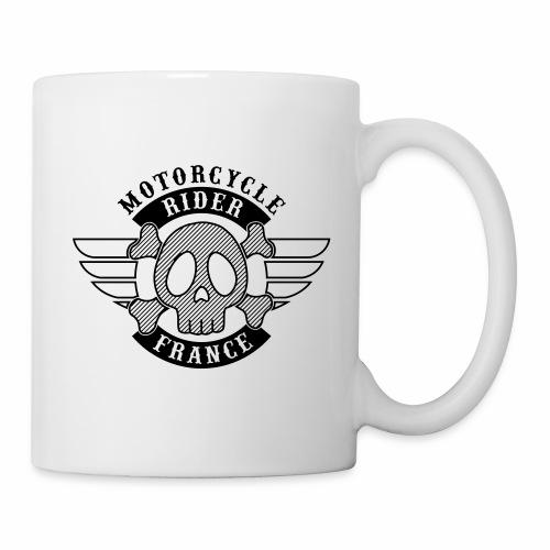 Motorcycle Rider France 'Wing' - Mug blanc