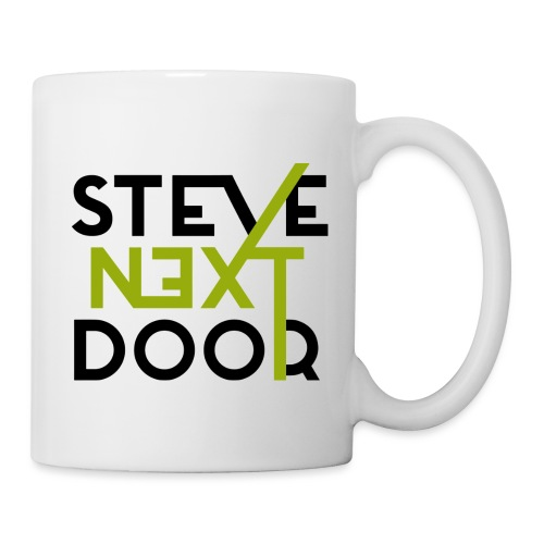 Steve Next Door _ Logo standard black - Tasse