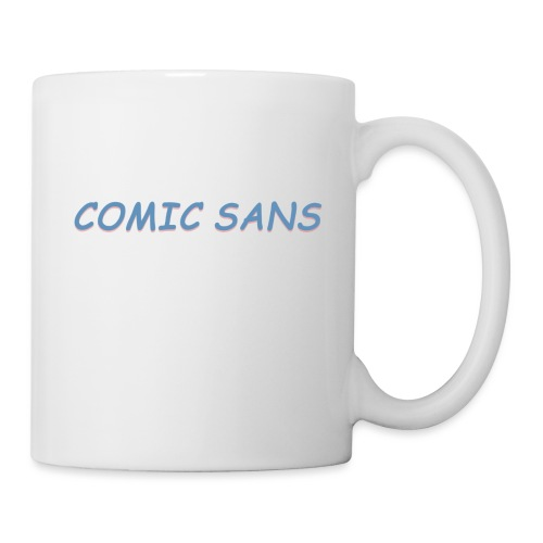 comic sans bucket hat - Mug
