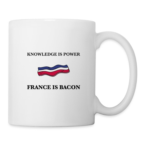 Knowledge is Power / France is Bacon - Mug