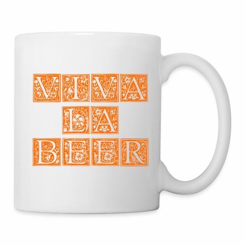 VIVA LA BEER Bier Sprüche Zitate - Tasse