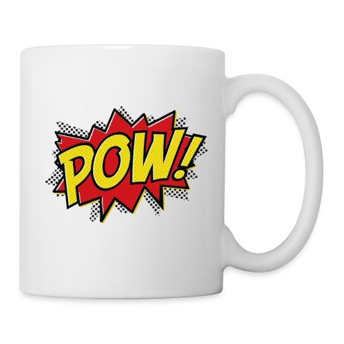 Large single Pow - Mug