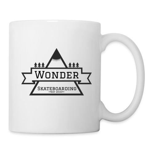 Wonder T-shirt: mountain logo - Kop/krus