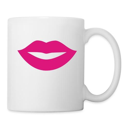 2000px-Lips_Silhouette-svg-png - Mug blanc