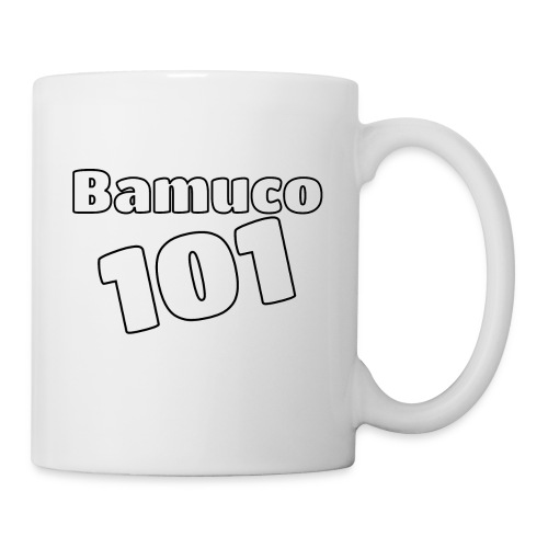 Bamuco101 Big White Logo - Muki