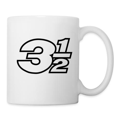Three and a Half Logo - Mug