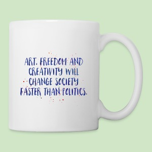 Art Quote - Tasse