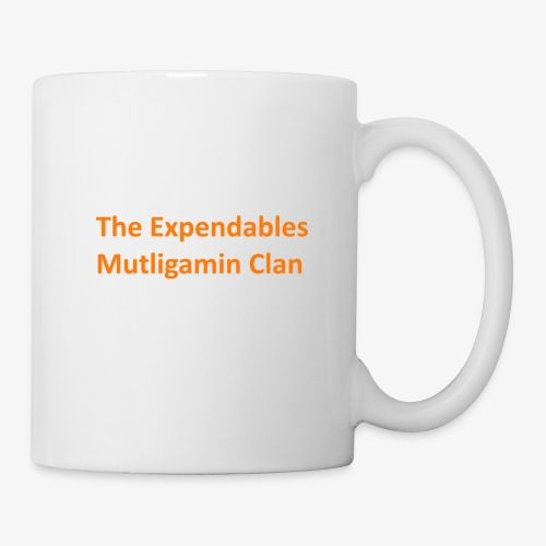 The Expendables Multigaming Clan Schriftzug - Tasse