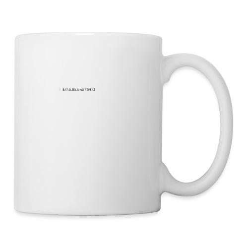 eat sleep sing - Mug