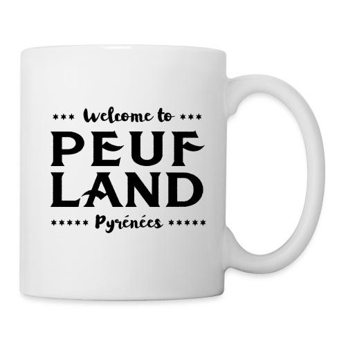 Peuf Land Pyrénées - Black - Mug blanc