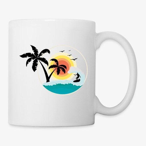 Surfing in paradise - Tasse
