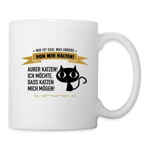 Katzenliebe ist wichtig! - Tasse