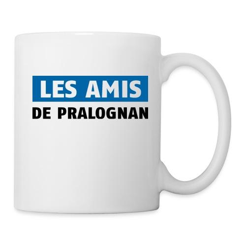 les amis de pralognan texte - Mug blanc