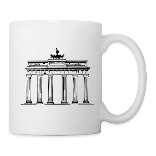 Brandenburger Tor Berlin Victoria Streitwagen - Tasse