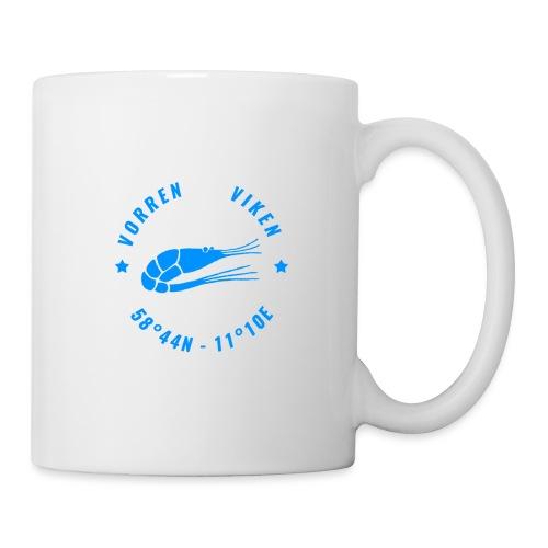 Vorren Logo MODERN [Blue] - Mugg