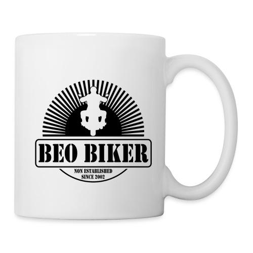 Logo Beo Biker Black - Tasse
