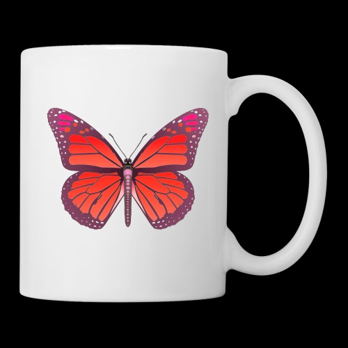 D28 monarch butterfly red lajarindream 4500px - Taza