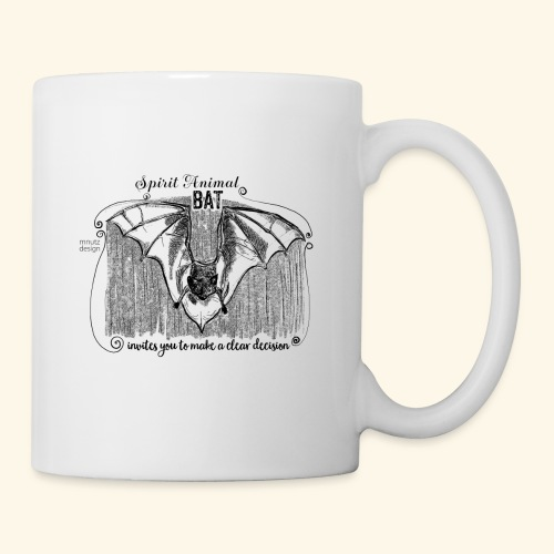 Spirit Animal Fledermaus schwarz - Tasse
