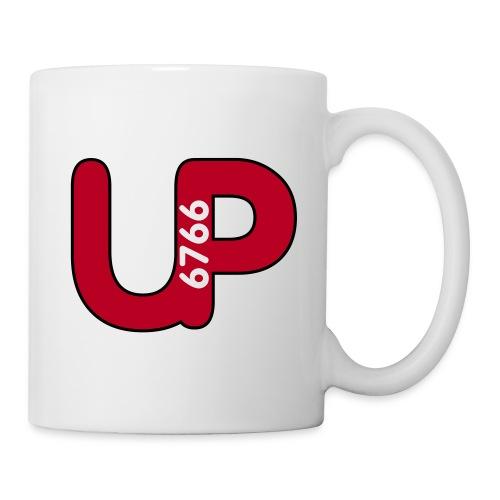 up6766 logo grau objektumwandlung - Tasse
